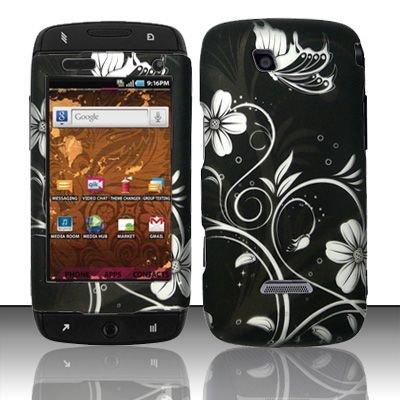 Hard Rubber Feel Design Case for Samsung Sidekick 4G - Midnight Garden