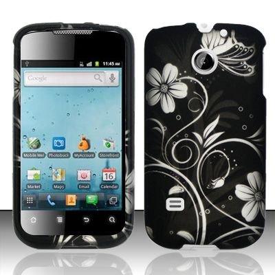 Hard Rubber Feel Design Case for Huawei Ascend II M865 - Midnight Garden