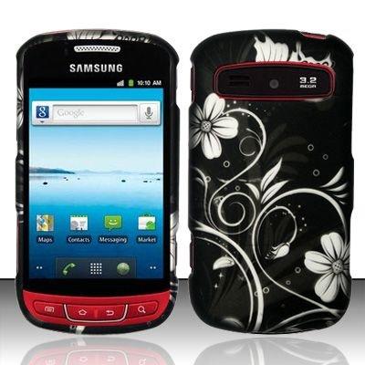 Hard Rubber Feel Design Case for Samsung Admire R720 - Midnight Garden