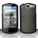 Hard Rubber Feel Design Case for Huawei Impulse 4G (T-Mobile) - Carbon Fiber
