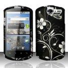 Hard Rubber Feel Design Case for Huawei Impulse 4G (T-Mobile) - Midnight Garden
