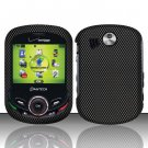 Hard Rubber Feel Design Case for Pantech Jest 2 - Carbon Fiber