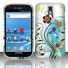 Hard Rubber Feel Design Case for Samsung Hercules/Galaxy S2 - Autumn Garden