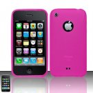 TPU Crystal Gel Case for Apple iPhone 3G/3Gs - Pink