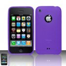 TPU Crystal Gel Case for Apple iPhone 3G/3Gs - Purple