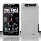 Hard Transparent Plastic Case for Motorola Droid RAZR XT912 (Verizon)