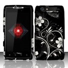 Hard Rubber Feel Design Case for Motorola Droid RAZR XT912 (Verizon) - Midnight Garden