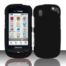 Hard Rubber Feel Plastic Case for Pantech Hotshot 8992 - Black