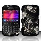 Hard Rubber Feel Design Case for Blackberry Curve 9360/9370 - Midnight Garden