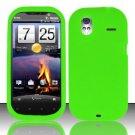 Soft Premium Silicone Case for HTC Amaze 4G (T-Mobile) - Neon Green