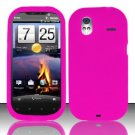 Soft Premium Silicone Case for HTC Amaze 4G (T-Mobile) - Pink