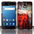 Hard Rubber Feel Design Case for Samsung Infuse 4G - Art Design