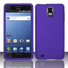 Hard Rubber Feel Plastic Case for Samsung Infuse 4G - Purple