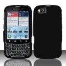 Hard Rubber Feel Plastic Case for Motorola Admiral XT603 (Sprint) - Black