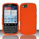 Hard Rubber Feel Plastic Case for Motorola Admiral XT603 (Sprint) - Orange