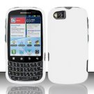 Hard Rubber Feel Plastic Case for Motorola Admiral XT603 (Sprint) - White