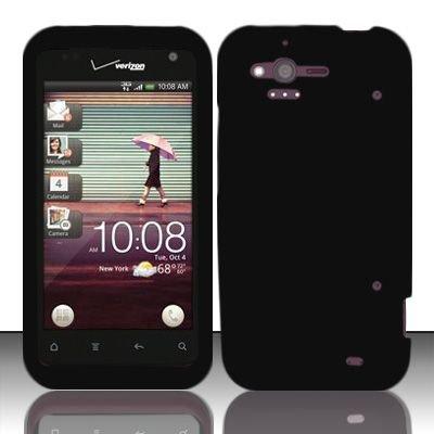 Soft Premium Silicone Case for HTC Rhyme (Verizon) - Black