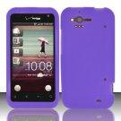 Soft Premium Silicone Case for HTC Rhyme (Verizon) - Purple