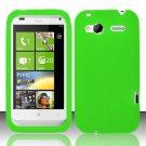 Soft Premium Silicone Case for HTC Radar 4G (T-Mobile) - Neon Green