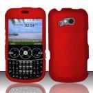 Hard Rubber Feel Plastic Case for LG 900g - Red