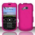 Hard Rubber Feel Plastic Case for LG 900g - Rose Pink
