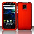 Hard Rubber Feel Plastic Case for LG Optimus 2X/G2x - Orange