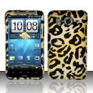 Hard Rubber Feel Design Case for HTC Inspire 4G/Desire HD - Cheetah