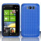 TPU Crystal Gel Case for HTC Titan X310e (AT&T) - Blue