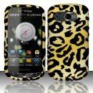 Hard Rubber Feel Design Case for Pantech Breakout 8995 (Verizon) - Cheetah