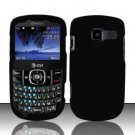 Hard Rubber Feel Plastic Case for Pantech Link II P5000 - Black