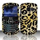 Hard Rubber Feel Design Case for Pantech Link II P5000 - Cheetah