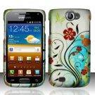Hard Rubber Feel Design Case for Samsung Exhibit II 4G - Autumn Garden