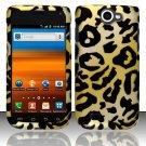 Hard Rubber Feel Design Case for Samsung Exhibit II 4G - Cheetah