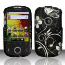 Hard Rubber Feel Design Case for Huawei M835 (MetroPCS) - Midnight Garden
