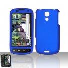 Hard Rubber Feel Plastic Case for Samsung Epic 4G - Blue