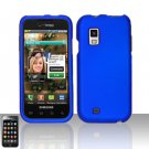 Hard Rubber Feel Plastic Case for Samsung Fascinate - Blue