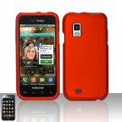Hard Rubber Feel Plastic Case for Samsung Fascinate - Orange