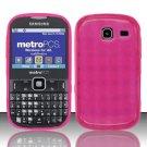 TPU Crystal Gel Case for Samsung Freeform 3/Comment - Pink