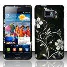 Hard Rubber Feel Design Case for Samsung Galaxy S II i777/i9100 (AT&T) - Midnight Garden