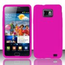 Soft Premium Silicone Case for Samsung Galaxy S II i777/i9100 (AT&T) - Pink