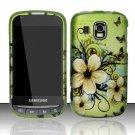 Hard Rubber Feel Design Case for Samsung Transform Ultra - Hawaiian Flowers