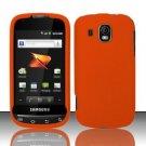 Hard Rubber Feel Plastic Case for Samsung Transform Ultra - Orange