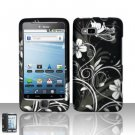 Hard Rubber Feel Design Case for HTC T-Mobile G2 - Midnight Garden