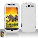 Hard Rubber Feel Plastic Case for HTC myTouch 4G (T-Mobile) - White
