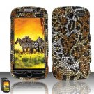 Hard Rhinestone Design case for HTC myTouch 4G (T-Mobile) - Cheetah