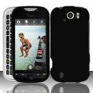 Hard Rubber Feel Plastic Case for HTC myTouch 4G Slide (T-Mobile) - Black