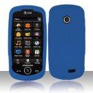 Soft Premium Silicone Case for Samsung Solstice II A817 - Blue