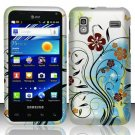 Hard Rubber Feel Design Case for Samsung Captivate Glide 4G - Autumn Garden