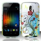 Hard Rubber Feel Design Case for Samsung Galaxy Nexus i515 - Autumn Garden