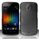 Hard Rubber Feel Design Case for Samsung Galaxy Nexus i515 - Carbon Fiber